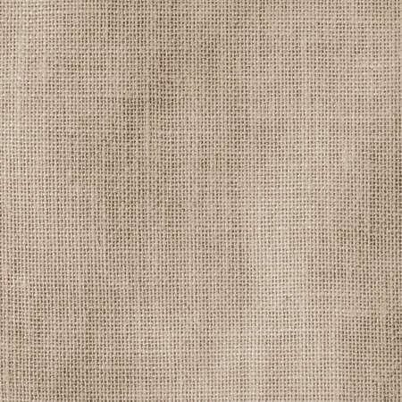 Hessian sackcloth woven texture pattern background in light creme tan cream beige brown color  Reklamní fotografie