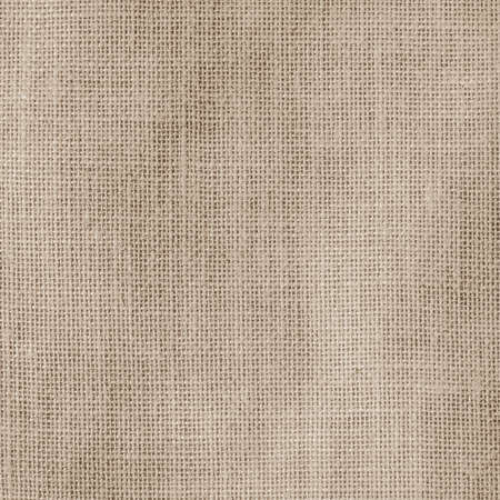 Hessian sackcloth woven texture pattern background in light creme tan cream beige brown color Reklamní fotografie - 142030026