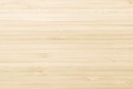Bamboo wood texture background in natural cream color
