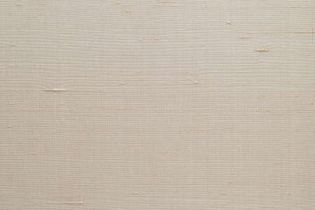 Silk fabric wallpaper texture pattern background in light pale cream beige color tone