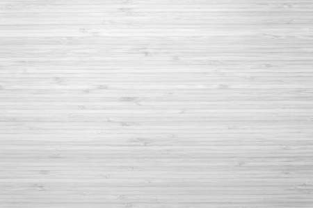 Bamboo wood background in white gray color top view Reklamní fotografie - 142436317