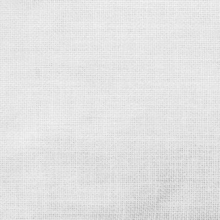 White hessian sack cloth texture canvas fabric background