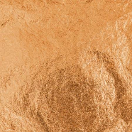 Copper foil metallic wrapping paper texture background for wallpaper decoration element Reklamní fotografie