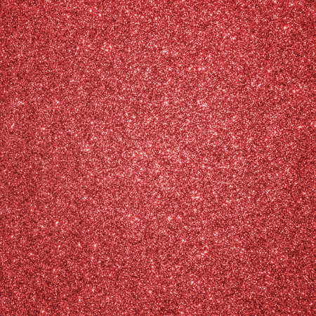 Red glitter texture background for Christmas holiday decoration metallic wallpaper backdrop design element