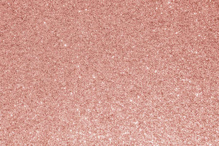 Rose gold glitter texture pink red sparkling shiny wrapping paper background for Christmas holiday seasonal wallpaper decoration, greeting and wedding invitation card design element Stock Photo