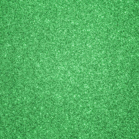 Green glitter texture background for Christmas and Saint Patrick's day holiday decoration metallic wallpaper backdrop design Zdjęcie Seryjne