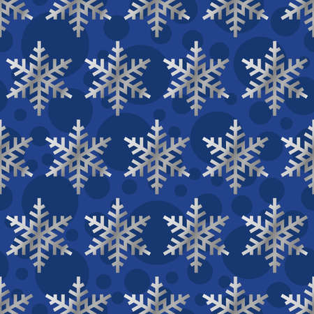 Luxury Elegant Merry Christmas and happy new year seamless pattern