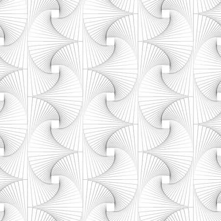 Seamless elegant black and white swirl pattern background. Illusztráció