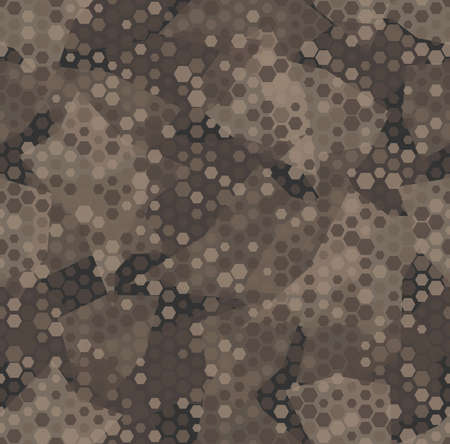 Texture military camouflage seamless pattern. Abstract army vector illustration Иллюстрация
