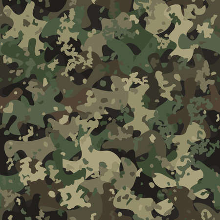 Camouflage seamless pattern background masking camo repeat print