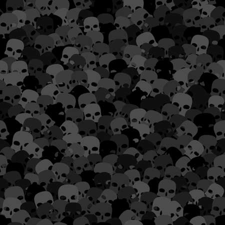 Halloween seamless pattern. Design elements for halloween party poster
