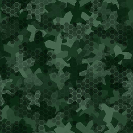 Texture of camouflage in seamless pattern.