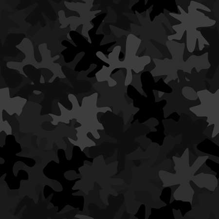 Military camouflage texture geometric seamless pattern digital background Vettoriali