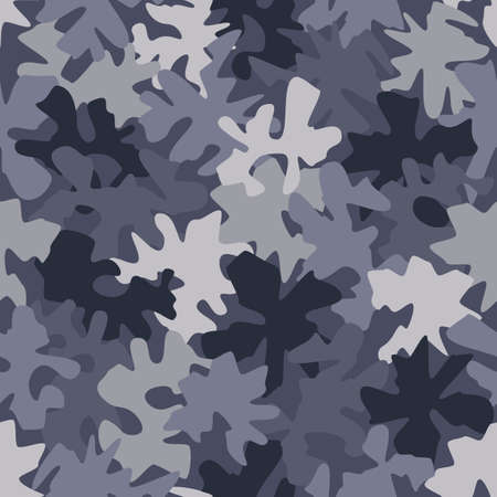 Seamless digital urban police camo texture for army or hunting textile print