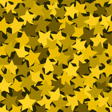 Gold Halftone Modern Design Backdrop. Yellow halftones bright christmas Vettoriali