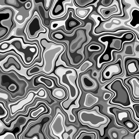 Abstract background with liquid chrome metal surface pixelated structure. Digital different clouds futuristic technology or science background