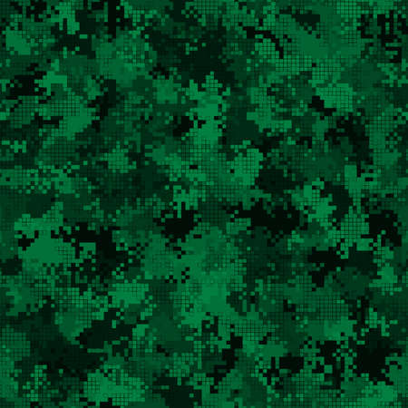 Abstract military or hunting camouflage seamless pattern background