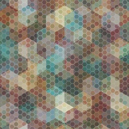 Camouflage seamless pattern. Urban hexagonal fashion clothing style. 版權商用圖片 - 166675257