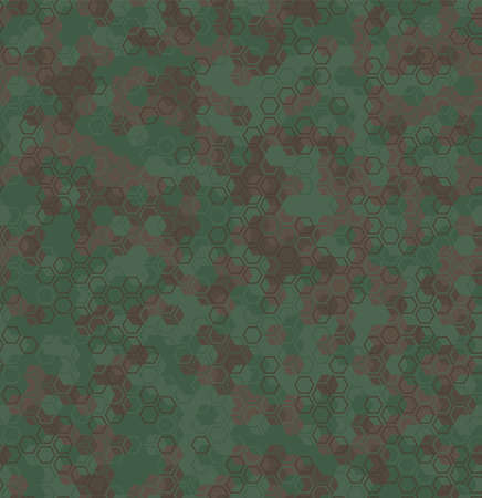 Texture military camouflage seamless pattern. Abstract army vector illustration 向量圖像