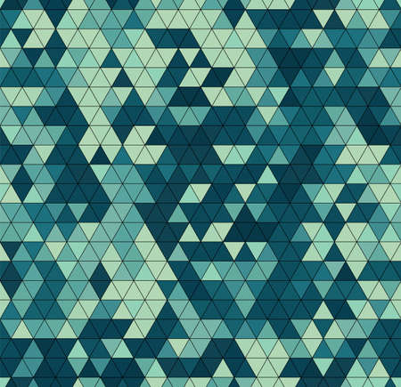 Vector trendy low poly seamless pattern. Camouflage polygonal background