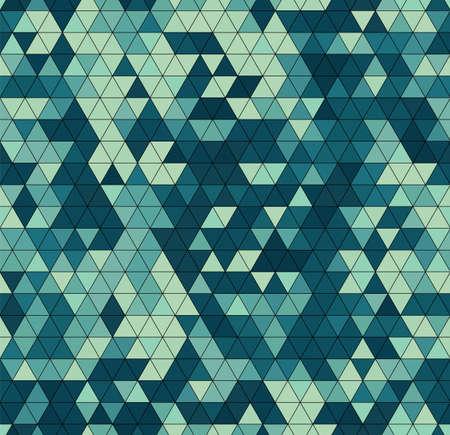 Vector trendy low poly seamless pattern. Camouflage polygonal background 版權商用圖片 - 166793102