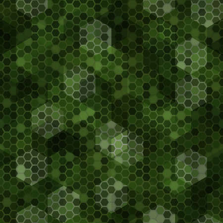 Texture military tan green colors forest camouflage seamless pattern