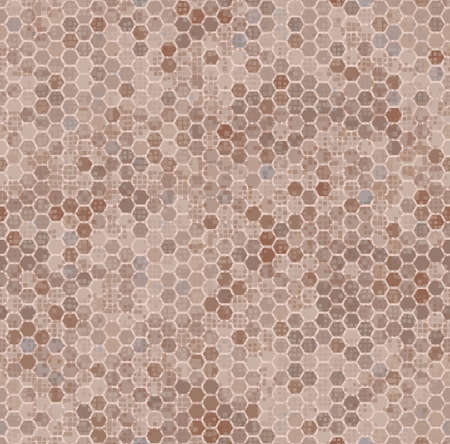 Brown color style abstract geometric fashion camouflage seamless pattern. 版權商用圖片 - 167781459