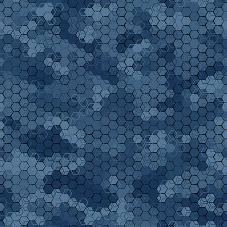 Texture military camouflage seamless pattern. Abstract modern camo ornament 版權商用圖片 - 167781464