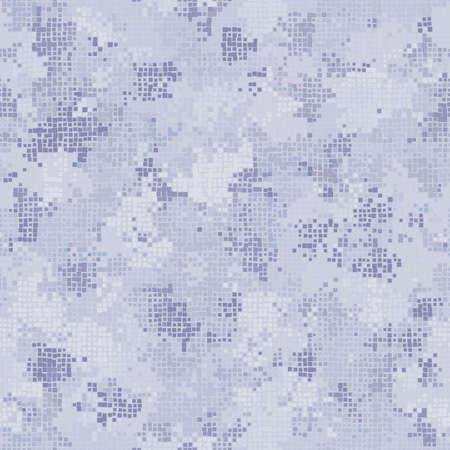 Digital camouflage seamless pattern military geometric camo background
