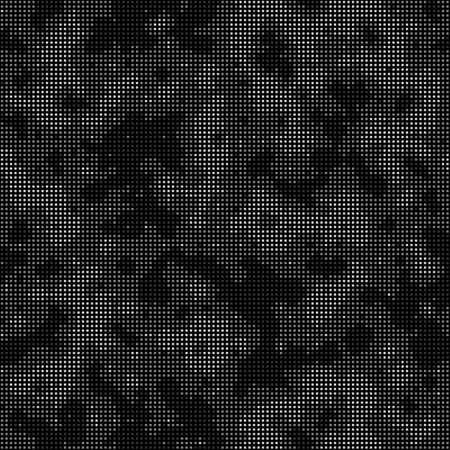 Digital camouflage seamless pattern. Abstract military geometric modern camo