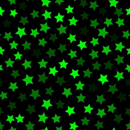 Green Halftone Modern Design Backdrop. Dark Emerald Bright Christmas 向量圖像