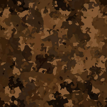 Military and hunting camouflage flecktarn seamless pattern