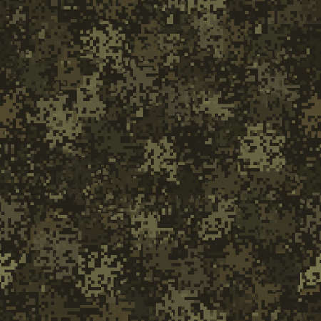 Abstract army and hunting masking ornament background 向量圖像