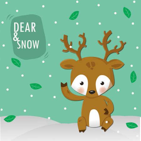 wean: dear and white snow