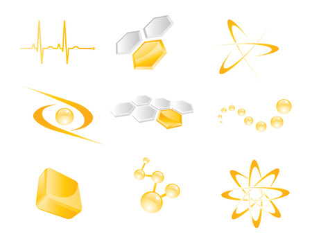 Set of vector icon elements Stock Vector - 5899965