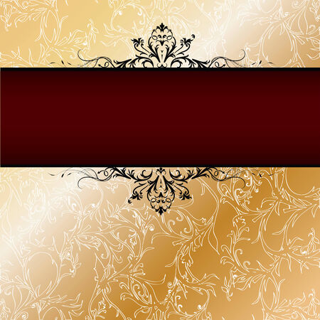 Vintage background with space for your text, in editable vector format Stock Vector - 6332401