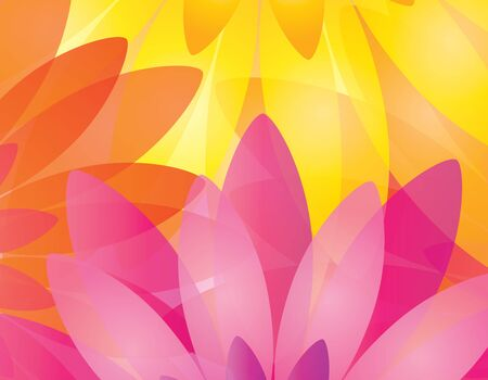Multicolored floral background in editable format