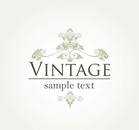 Vintage style background in editable   format