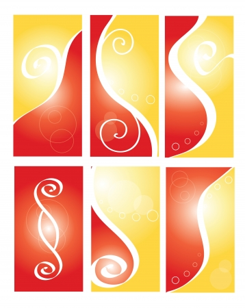 Abstract card template Vector