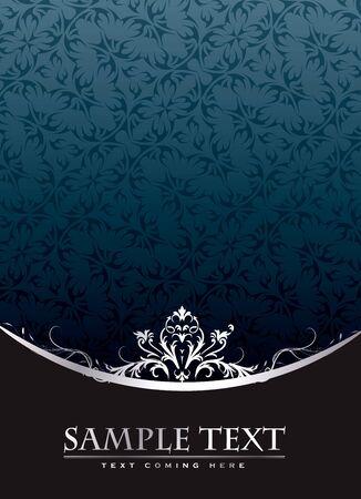 Royal Vintage portada en formato vectorial editable