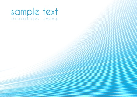 Abstract presentation background in editable vector format
