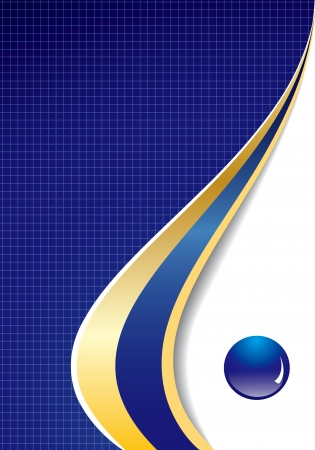 catalog: Abstract presentation background in editable vector format