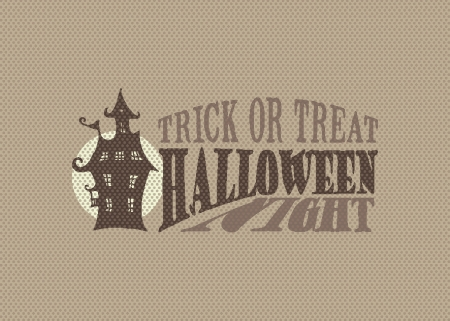Halloween night cover concept Stock Vector - 15763972