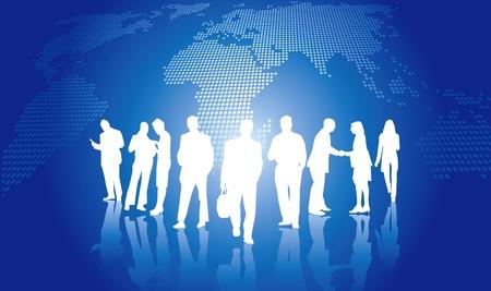 Business presentation concept Stock Vector - 15763983