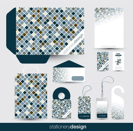 Stationery design set  Stock Vector - 16439170