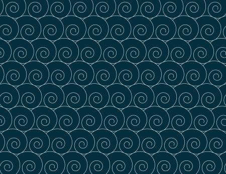 spiral pattern: Abstract spiral pattern Illustration