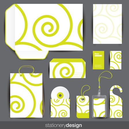 Stationery design set  Vector