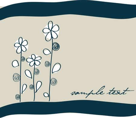 leafage: Spring flower background in editable vector format Illustration