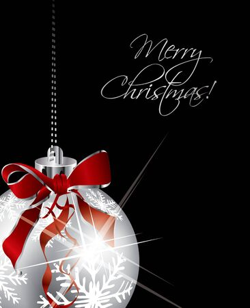 high detail: Christmas Greeting cover in editable format