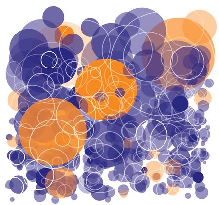 Bubbles background concept Stock Vector - 16851588